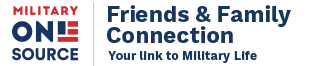 Military OneSource Logo, Friends & Family Connection