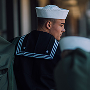 Sailor packed for PCS