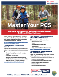 Master Your PCS flyer