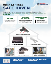 Make Home a Safe Haven Poster